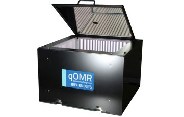 qOMR system for measuring optomotor response