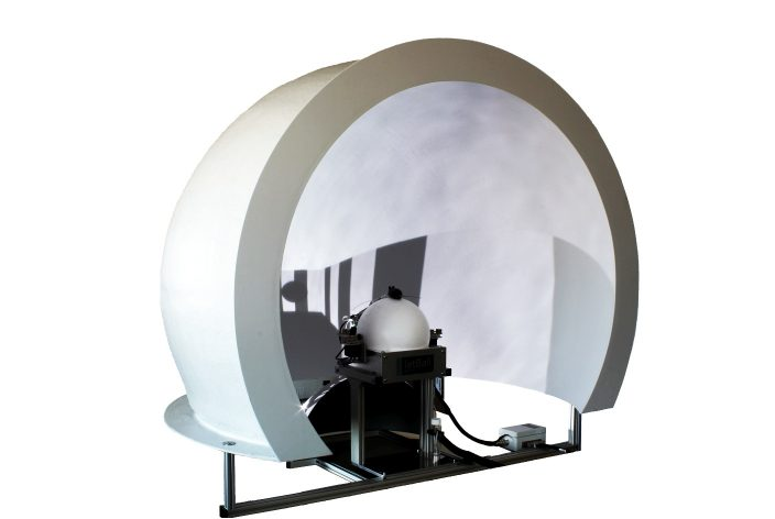 JetBall Dome for mice with projection system